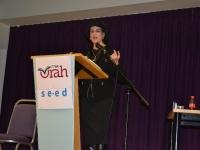 Rebbetzen Yemima Mizrachi Jan 2014
