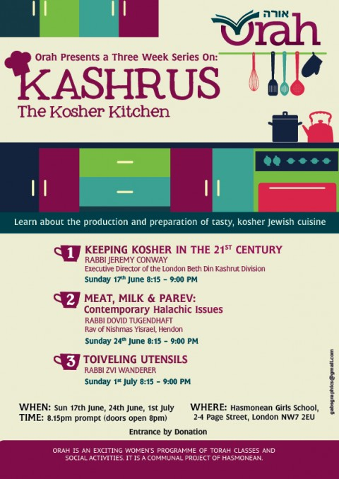 Orah Kashrus Final 2012